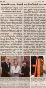 Kieler Nachrichten vom 13. August 2004