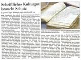 Kieler Nachrichten vom 21. August 2012