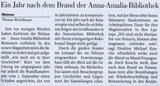 Flensburger Tageblatt vom 2. September 2005
