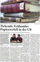 Kieler Nachrichten vom 27. Dezember 2007