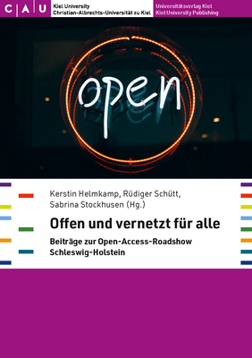 Cover Tagungsband Open-Access-Roadshow