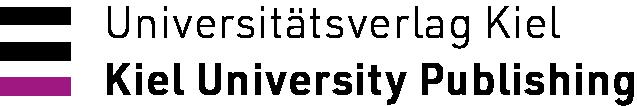Verlagssignet: Universitätsverlag Kiel. Kiel University Publishing